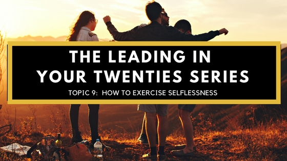 Exercise Selflessness